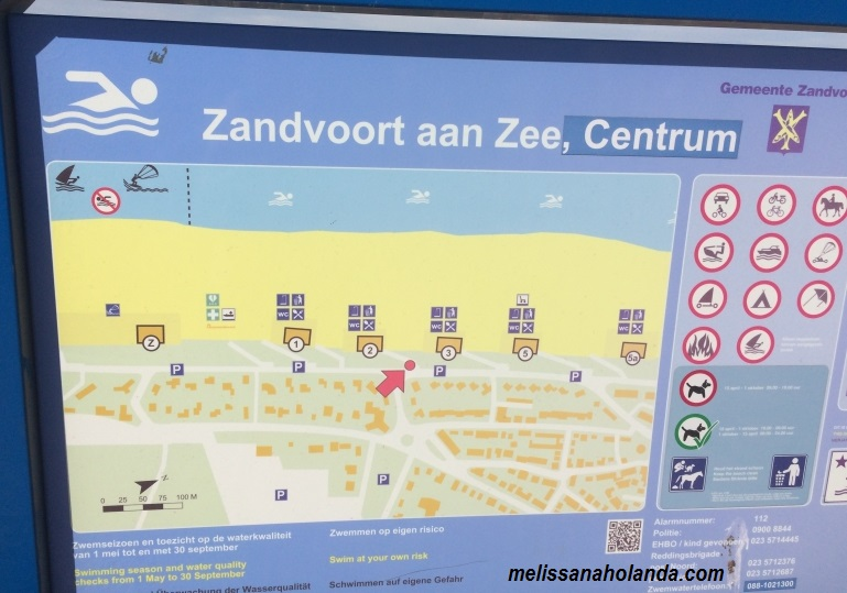 Placa de Zandvoort