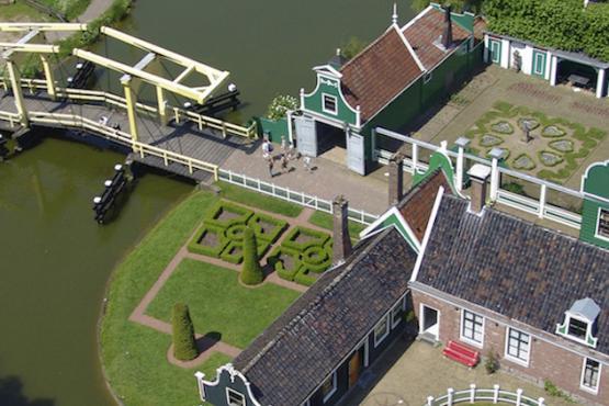 Viajando por 40 cidade da Holanda