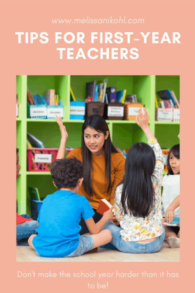 Being a teacher is hard. Get the tips you need as a first year teacher in order to be successful.#firstyearteacher #newteacher #newteachertips