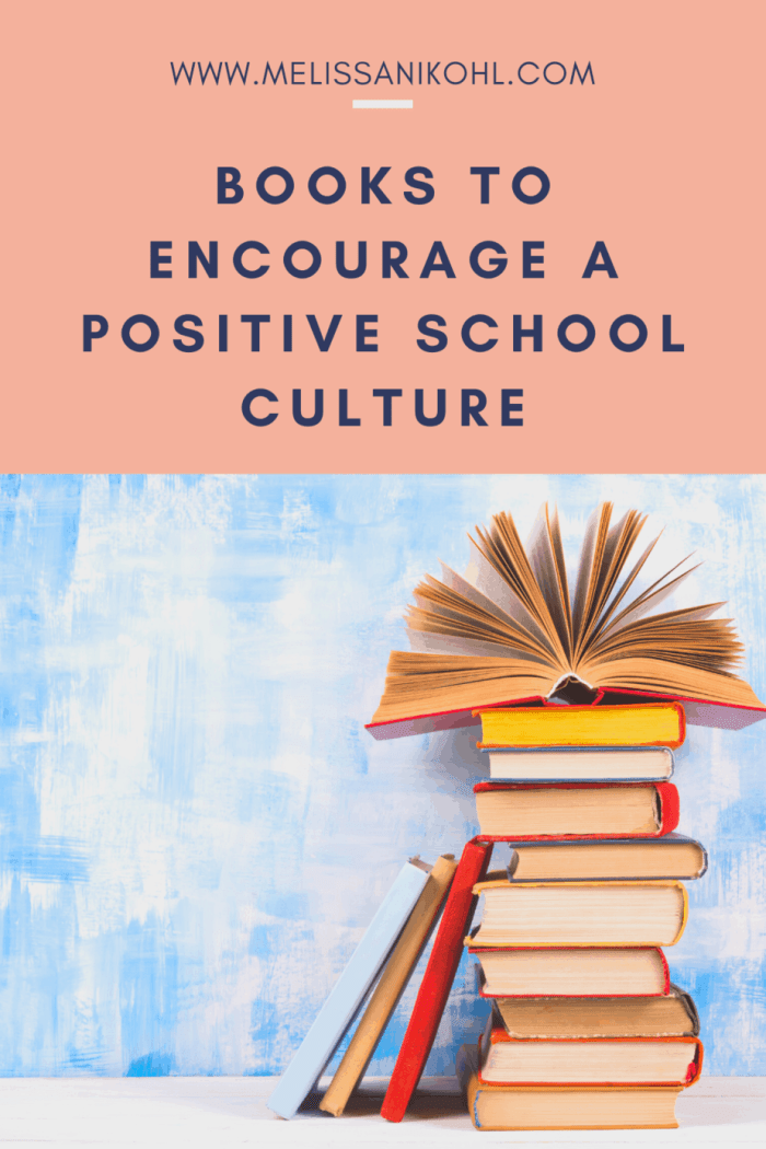 A school's culture can make or break a school. If you're looking for books to help you change the culture of your campus or if you're looking for books to keep the positive momentum going, I have some great recommendations for you! #schoolculture #positiveschoolculture