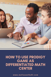 Prodigy is my go-to tool when differentiating in math. It makes it easy to address each students' needs. Using Prodigy Game, in combination with my guided math lessons, makes student growth a breeze. Don't stress over making differentiated math centers start using Prodigy today! #mathcenters #differentiatedinstruction #guidedmath