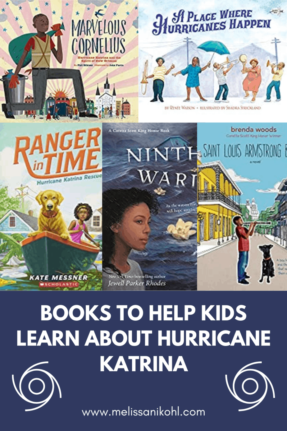 The easiest way to share information about a topic is by reading books. Hurricane Katrina is a natural disaster that all kids should know about. These books about Hurricane Katrina are a great way to encourage discussions and research about this violent storm. #stembooksforkids #hurricanebooks #hurricanekatrinabooksforkids