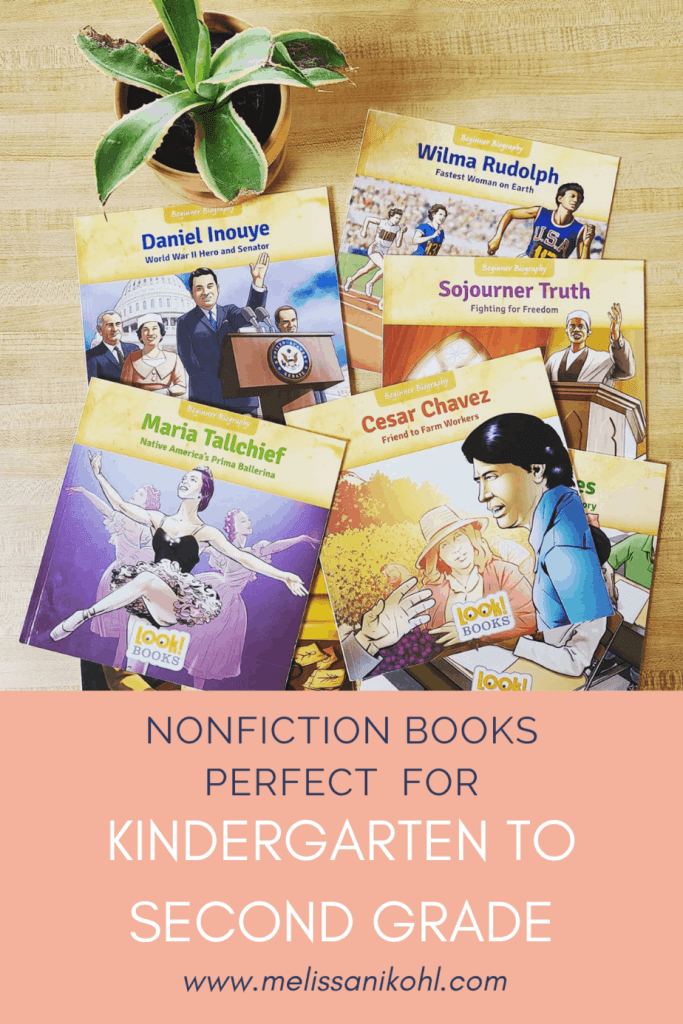 Are you looking for nonfiction books for primary grades? Check out these informational texts perfect for kindergarten to second grade. These books are perfect for teaching text features too.