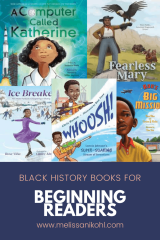BLACK HISTORY BOOKS FOR BEGINNING READERS