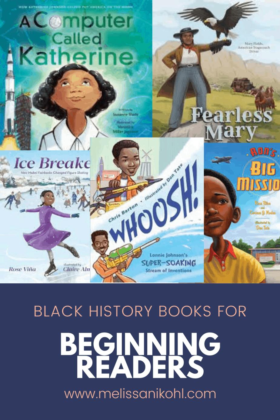 BLACK HISTORY BOOKS FOR BEGINNING READERS
