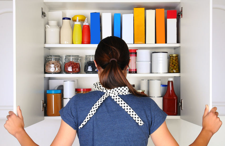 clean pantry lose weight