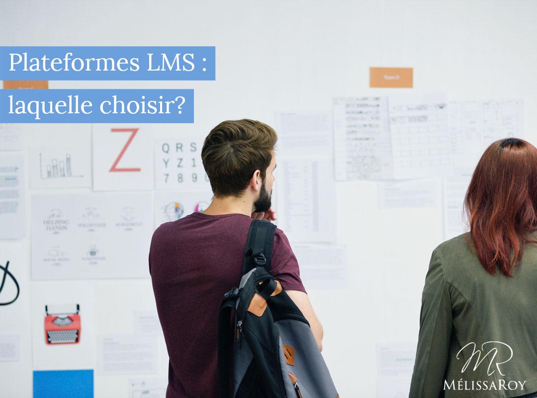 Liste des différentes plateformes LMS