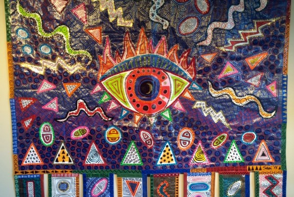 ©2016 Melissa 'Sasi' Chambers - Third Eye Tarpestry