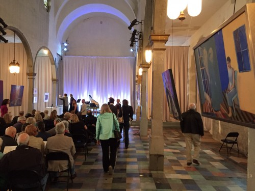 """Mike Chambers """"Annunciation"""" at Marigny Opera House"""