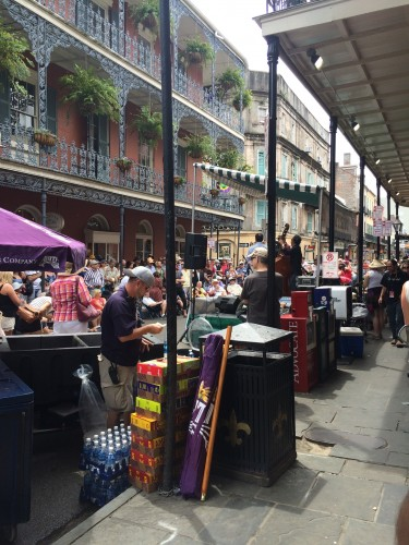 Royal Street during French Quarter Fest
