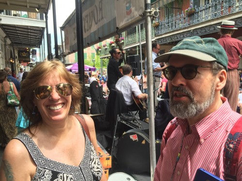 Sasi with Ed Moseley at FQF