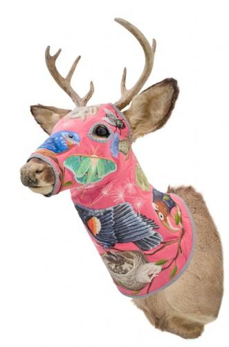 """""""Deer Head"""" by Chris Roberts-Antieau"""