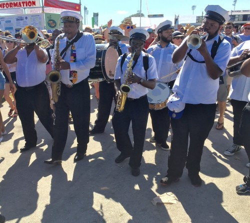 Band at Jazz Fest 2016