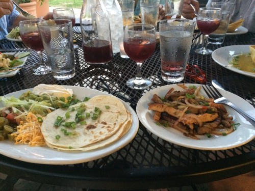 Gipsy Fajitas and Sangria at Santa Fe Restaurant
