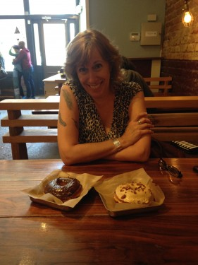 Sasi at District Donuts