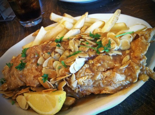 Mandina's Fish Meunière
