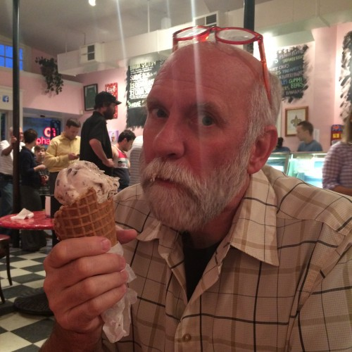 Mike at Creole Creamery