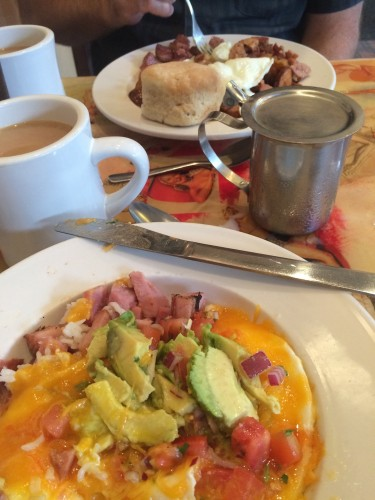 Costa Rican Breakfast at Surrey'S