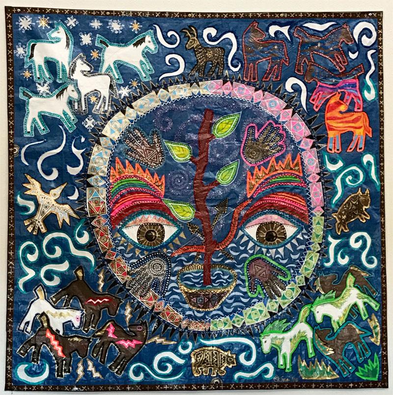 ©2019 Melissa 'Sasi' Chambers - Great Circle of Life - tarpage