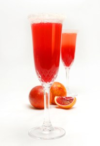 Blood Orange Mimosas Sm