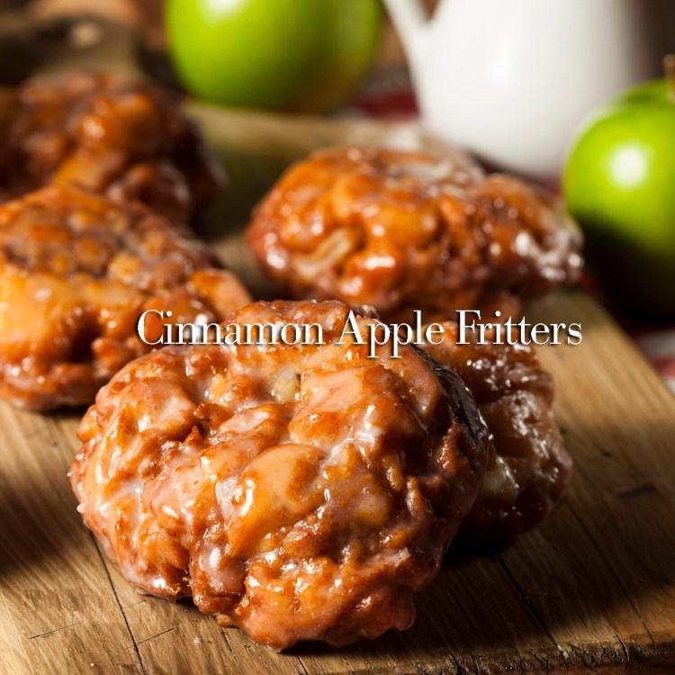 Homemade Glazed Apple Fritters