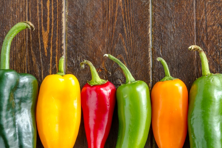 Hot Sweet and Chili Pepper Varieties
