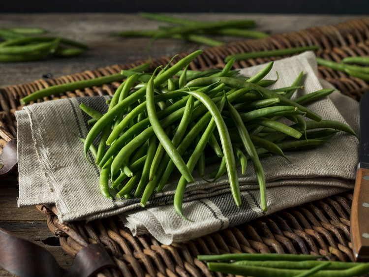 Raw Organic French Green Beans