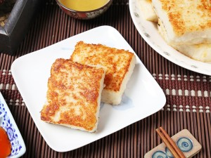 Steamed turnip cake
