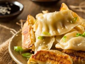 Homemade Asian Pork Potstickers