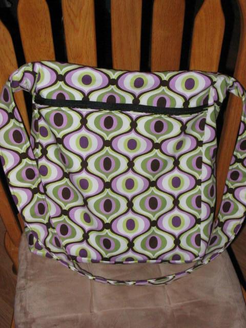 Amy Butler High Street Messenger BagBack