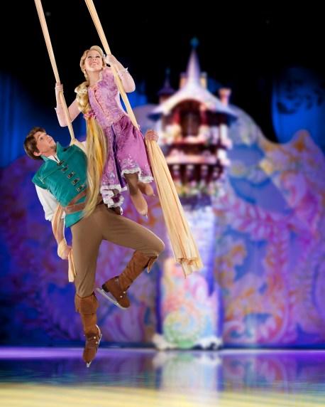 Disney on Ice Rapunzel and Flynn