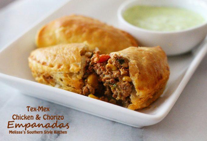 Chicken Empanada With Chorizo And Olives Recipe Dishmaps