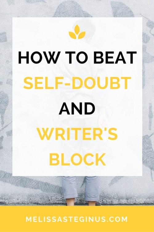 beat self-doubt writer's block