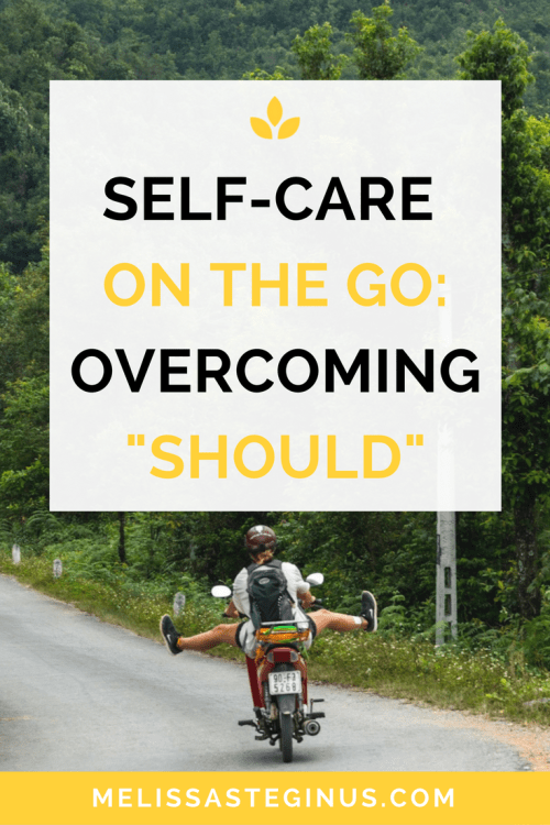 self-care motorcycle overcoming should