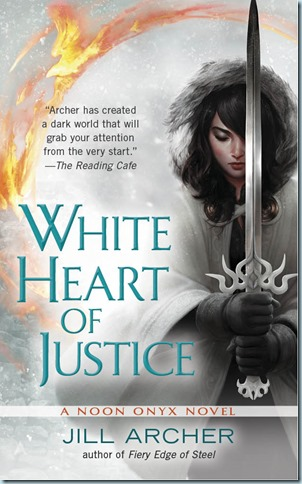 White Heart of Justice Cover