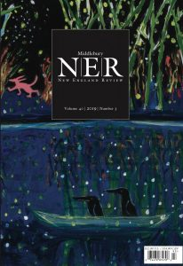 Image of New England Review Cover, Magical Nighttime Boat Ride