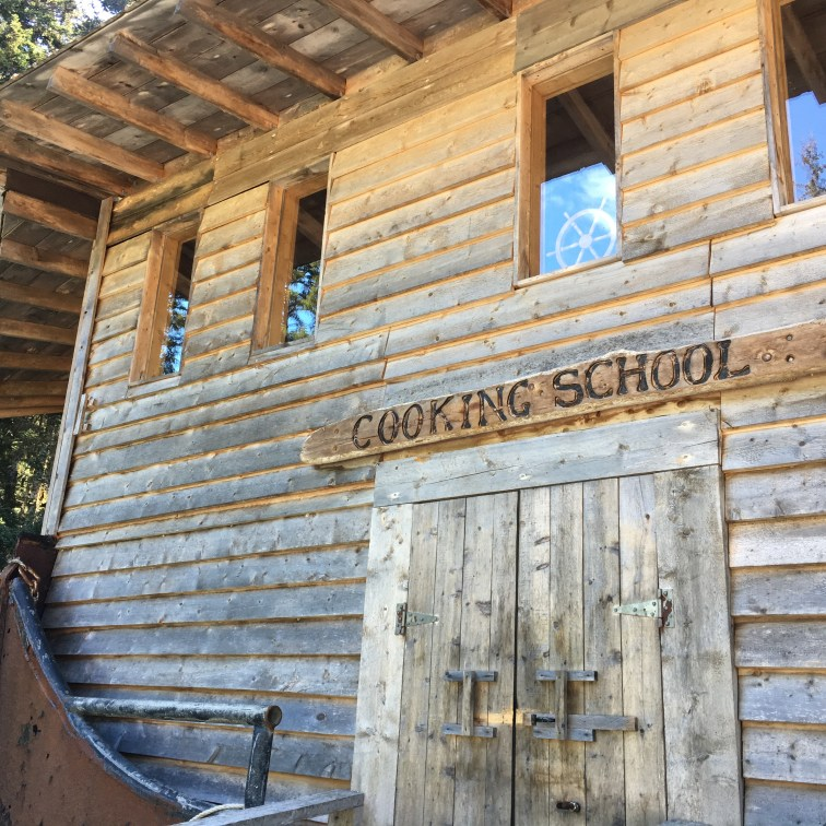 Cooking School Front door