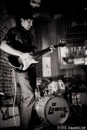 Parker McDonald at the Fox and Goose. Sacramento CA. Jan. 2014 Photo Melissa Uroff