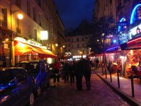 The Latin Quarter at Night