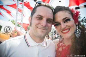 Matt Millner with $hredder at the 2014 Lagunitas Beer Circus in Petaluma CA. Photo Melissa Uroff