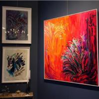 Works from Jacqueline Tiepermann's Viaggio Exhibit at Becker Minty Potts Point