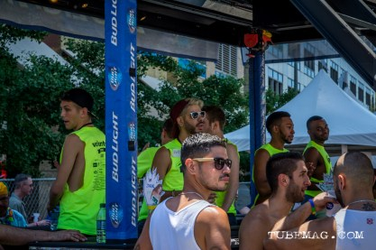 Bud Light Bar with rooftop access at Sac Pride 2015, Photo Sarah Elliott