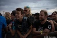 Punk Rock Bowling audience watching Jello Biafra. May 2015 Photo Melissa Uroff.