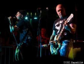 Rancid performing at the 17th Annual Punk Rock Bowling Festival in Las Vegas Nevada, May 2015. Photo Melissa Uroff