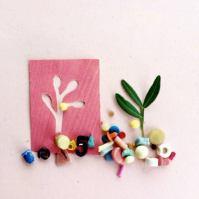 Miniature Sculpture by Sabine Timm.