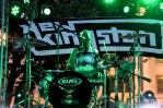 Courtney Jr. drummer of New Kingston, Concerts in the Park, Cesar Chavez Park, Sacramento, CA. May 13, 2016, Photo Anouk Nexus
