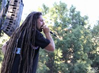 J*Ras of Soulifted, singing with IrieFuse, Concerts in the Park, Cesar Chavez Park, Sacramento, CA. June 24, 2016. Photo Anouk Nexus