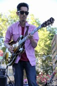 Fill-in Guitarist for Hans! and the HOT MESS, Concerts in the Park, Cesar Chavez Park, Sacramento, CA. July 15, 2016. Photo Anouk Nexus