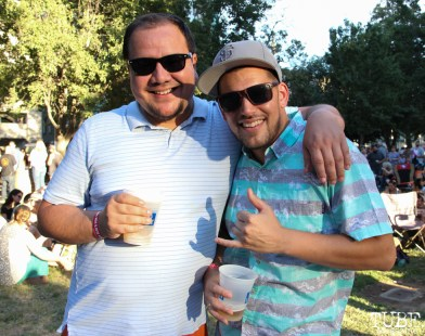 Kimo and Art, Audience Members, Concerts in the Park, Cesar Chavez Park, Sacramento, CA. July 15, 2016. Photo Anouk Nexus