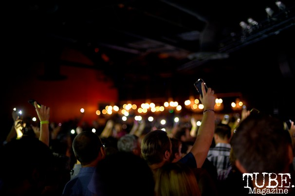 Audience at Fitz and The Tantrums, The Ace of Spades, Sacramento, CA, August 18, 2016. Photo Emma Montalbano.